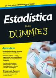 Estadística para Dummies ebook by Kobo.Web.Store.Products.Fields.ContributorFieldViewModel