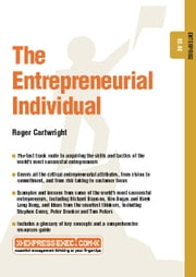 The Entrepreneurial Individual: Enterprise 02.08 ebook by Cartwright, Roger