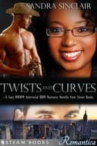 Twists and Curves - A Sexy BWWM Interracial BBW Romance Novella from Steam Books ebook by Sandra Sinclair, Steam Books