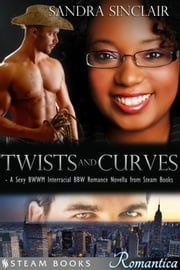 Twists and Curves - A Sexy BWWM Interracial BBW Romance Novella from Steam Books ebook by Sandra Sinclair,Steam Books