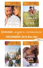 Harlequin Superromance December 2016 Box Set - A Mother's Claim\Christmas with Carlie\Tempting the Sheriff\Boss on Notice ebook by Janice Kay Johnson, Julianna Morris, Kathy Altman,...