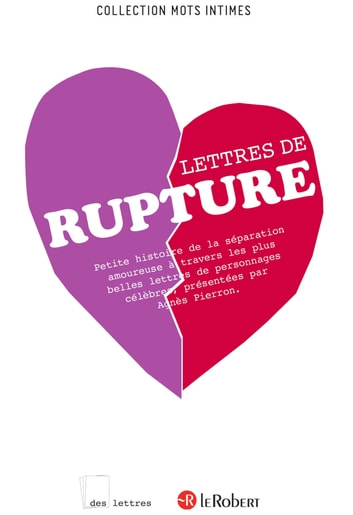 Lettres de rupture - ePub 2 ebook by Agnès Pierron