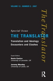 Translation and Ideology - Encounters and Clashes ebook by