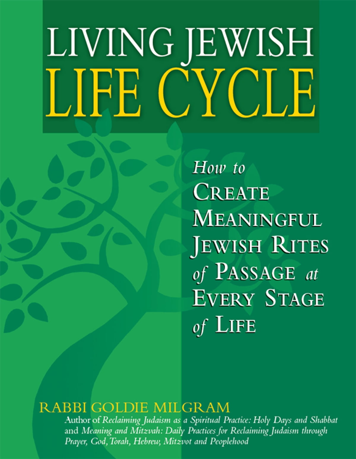 Living Jewish Life Cycle: How to Create Meaningful Jewish Rites of Passage  at Every Stage of Life ebook by Rabbi Goldie Milgram - Rakuten Kobo