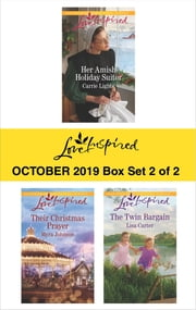 Harlequin Love Inspired October 2019 - Box Set 2 of 2 - An Anthology ebook by Carrie Lighte, Myra Johnson, Lisa Carter