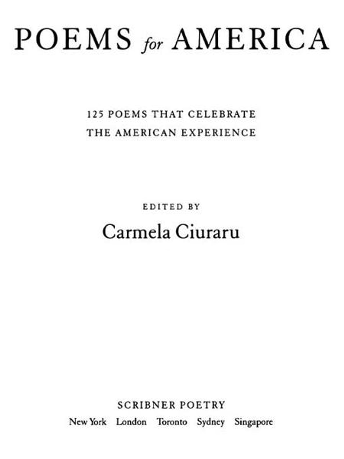 Poems For America Ebook By 9781416595656 Rakuten Kobo United States Here is a list of categorized poems and poetry from the most famous poets and authors of the world. poems for america ebook by rakuten kobo