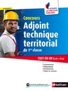 Concours Adjoint technique territorial de 1re classe - Format : ePub 3 FL ebook by Laurent Fischer, Élisabeth Simonin