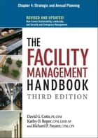 The Facility Management Handbook, Chapter 4 ebook by David G. COTTS