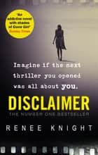 Disclaimer eBook by Renée Knight