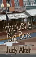 Trouble in a Big Box - Kelly O'Connell Mysteries ekitaplar by Judy Alter