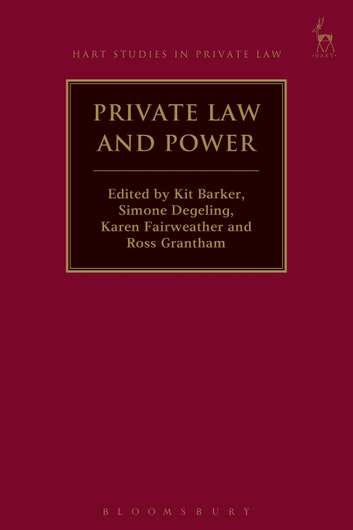 Private Law and Power ebook by