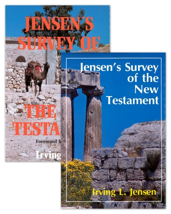 Jensen Survey-2 Volume Set -Old and New Testaments ebook by Irving L. Jensen