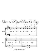 Once In Royal David's City Beginner Piano Sheet Music ebook by Traditional Anglican Carol