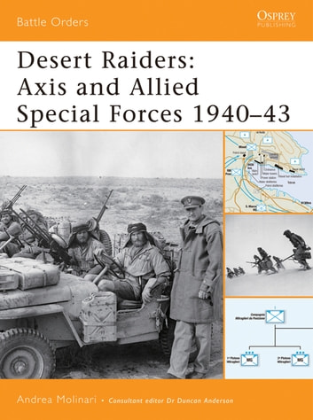 Desert Raiders - Axis and Allied Special Forces 1940–43 ebook by Andrea Molinari
