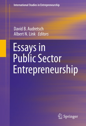entrepreneurship 6 essay Are entrepreneurs born or made essay are entrepreneurs born or made introduction an entrepreneur is a person who sets up a business by taking on financial risks in hope to make a profit the word.