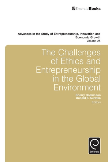 The Challenges Of Ethics And Entrepreneurship In The Global