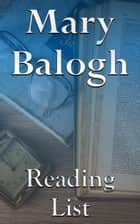 Mary Balogh ebook by Edward Peterson