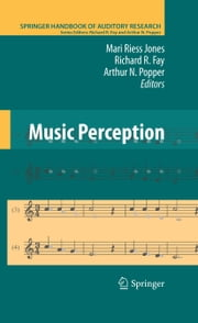 Music Perception ebook by Mari Riess Jones,Richard R. Fay,Arthur N. Popper
