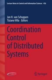 Coordination Control of Distributed Systems ebook by