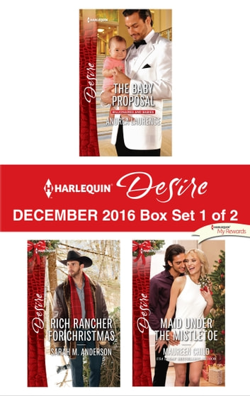 Harlequin Desire December 2016 - Box Set 1 of 2 - An Anthology ebook by Andrea Laurence,Maureen Child,Sarah M. Anderson