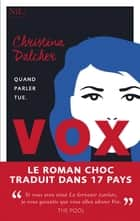 Vox eBook by Christina DALCHER, Michael BELANO