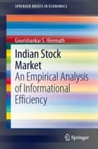 Indian Stock Market ebook by Gourishankar Hiremath