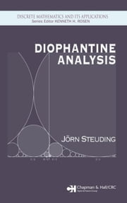 Diophantine Analysis ebook by Steuding, Jorn