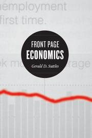 Front Page Economics ebook by Gerald D. Suttles,Mark D. Jacobs