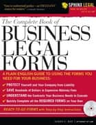 Complete Book of Business Legal Forms ebook by James C Ray