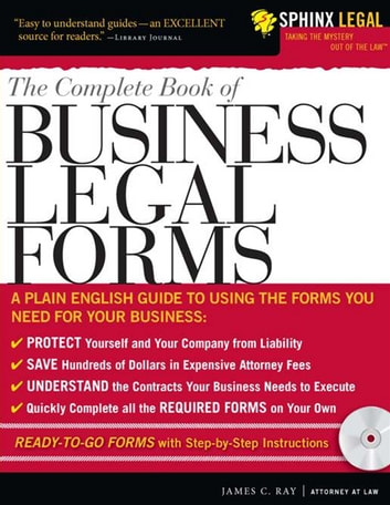The Complete Book of Business Legal Forms ebook by James Ray