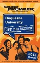 Duquesne University 2012 ebook by Lauren Hensley