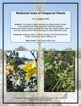 Medicinal Uses of Chaparral Plants ebook by Eric J. Guignard
