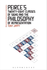 Peirce's Twenty-Eight Classes of Signs and the Philosophy of Representation - Rhetoric, Interpretation and Hexadic Semiosis ebook by Tony Jappy