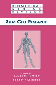 Stem Cell Research ebook by James M. Humber,Robert F. Almeder