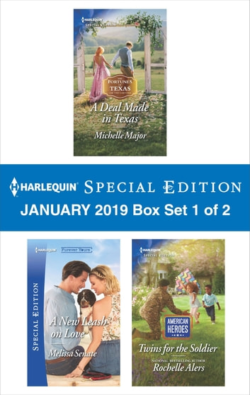 Harlequin Special Edition January 2019 - Box Set 1 of 2 電子書 by Michelle Major,Melissa Senate,Rochelle Alers