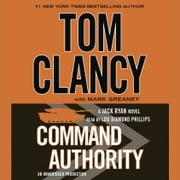 Command Authority audiobook by Tom Clancy, Mark Greaney