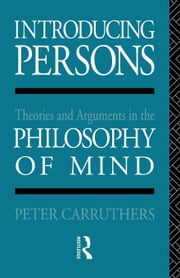 Introducing Persons ebook by Carruthers, Peter