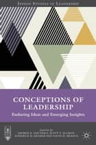Conceptions of Leadership ebook by G. Goethals,R. Kramer,Scott Allison,David M. Messick