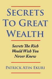 Secrets to Great Wealth - Secrets the Rich Would Wish You Never Knew ebook by Patrick Atin Ekuri