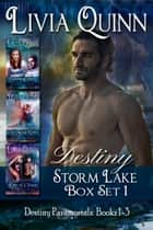 Destiny Box Set 1 (Books 1-3) - Paranormal Urban Fantasy, Southern Paranormal Mystery ebook by Livia Quinn