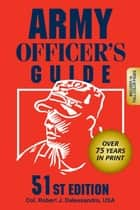 Army Officer's Guide ebook by Robert J. Dr Dalessandro