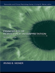 Principles of Rorschach Interpretation ebook by Irving B. Weiner
