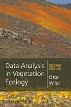 Data Analysis in Vegetation Ecology ebook by Otto Wildi