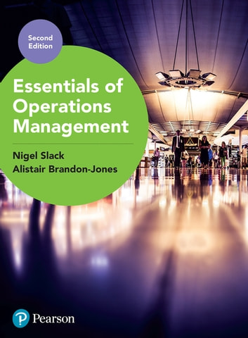 Essentials of Operations Management 電子書籍 by Prof Nigel Slack,Prof Alistair Brandon-Jones