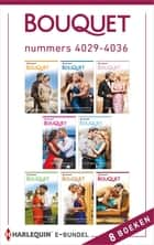 Bouquet e-bundel nummers 4029 - 4036 - 8-in-1 ebook by Sharon Kendrick, Abby Green, Julia James,...