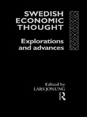 Swedish Economic Thought - Explorations and Advances ebook by Lars Jonung