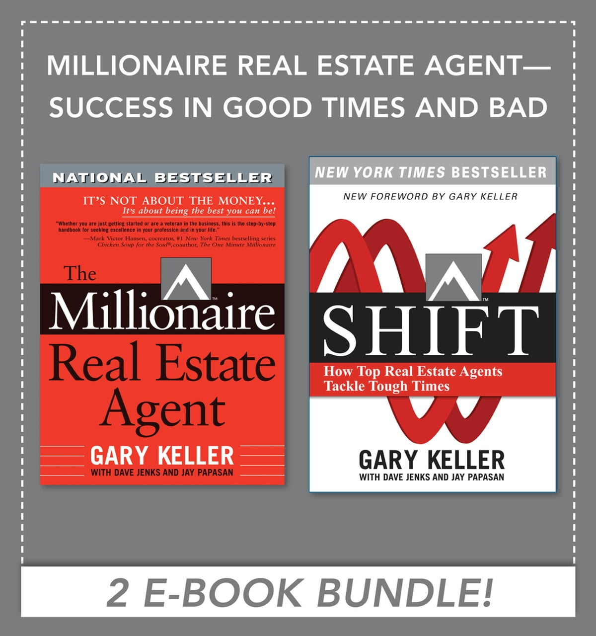 Millionaire Real Estate Agent - Success in Good Times and Bad (EBOOK  BUNDLE) eBook by Dave Jenks - 9780071796514 | Rakuten Kobo