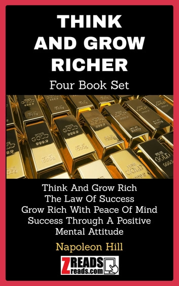 THINK AND GROW RICH - Four Book Set 電子書 by Napoleon Hill,James M. Brand