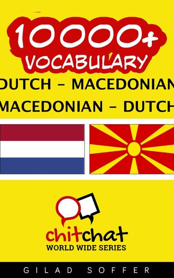 10000+ Vocabulary Dutch - Macedonian ebook by Gilad Soffer