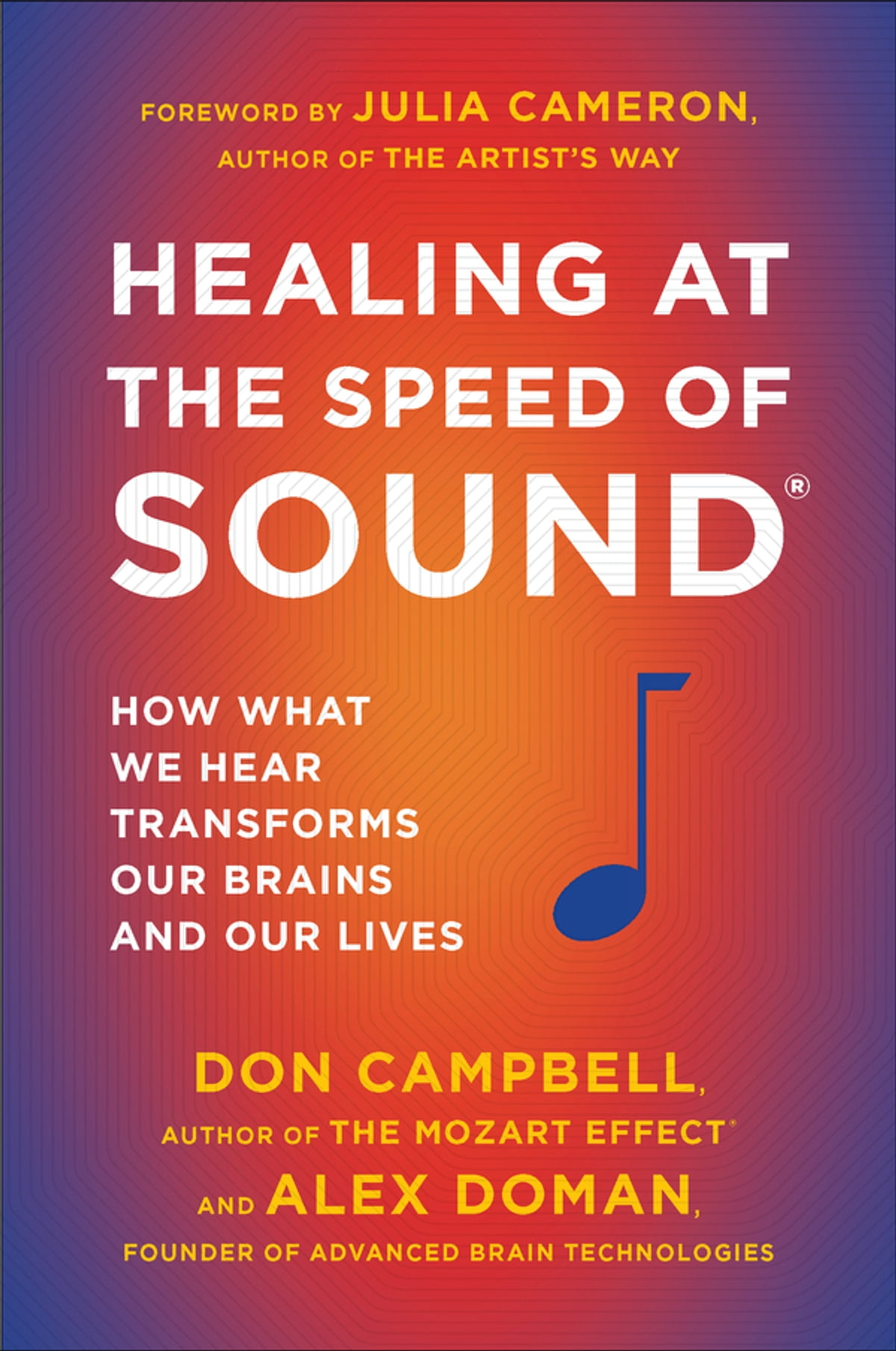 Healing At The Speed Of Sound Ebook By Don Campbell  9781101544488  Kobo